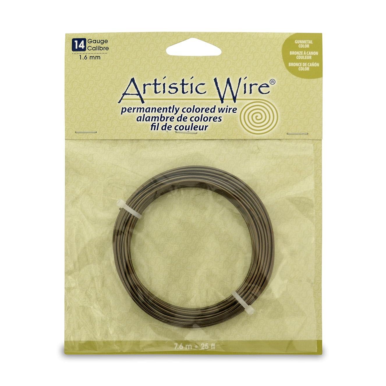 Artistic Wire 14 Gauge Wire, Antique Brass, 25-Feet kuwuoqshzp9933