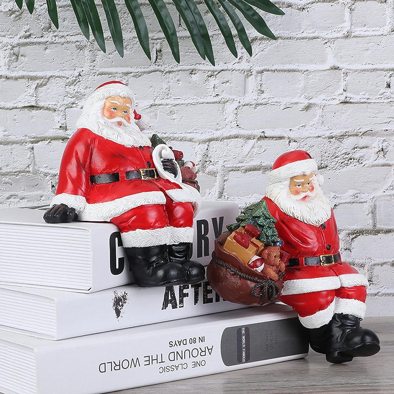 SRGRTRG Christmas Santa Claus Figurine Holida Quality inspection Ornament shop