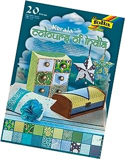 folia Bringmann 550401Creative Block Kerala DIN A420/Assorted Colours
