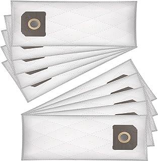 Wessper 10x Sacchetti per aspirapolvere per Kärcher NT 48/1 (Sintetici)