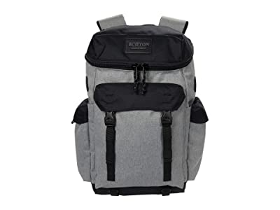 Burton Annex 2.0 Backpack 28L (Gray Heather) Backpack Bags