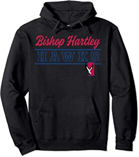 Bishop Hartley High School Hawks Pullover Hoodie C4