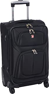 "SwissGear Sion Black, 21"" Carry-On Spinner"