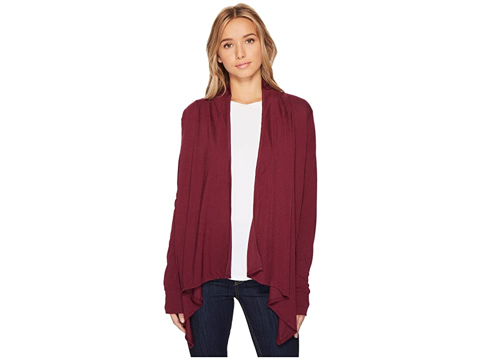 Royal Robbins Merinolux Sweater Wrap (Plum Wine) Women