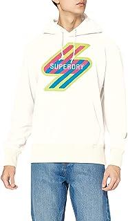 Superdry Sportstyle Nrg Fleece Hood Felpa da Skateboard Uomo
