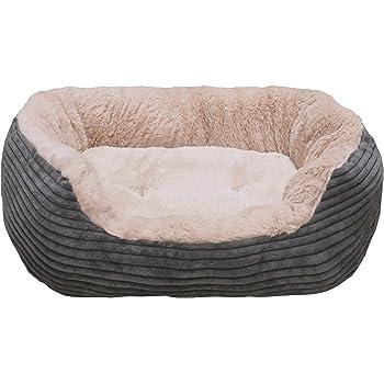 Rosewood Jumbo Cord/ Plush Dog Bed Small
