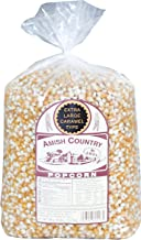 product image for Amish Country Popcorn | 6 lb Bag | Extra Large Caramel Type Popcorn Kernels | Old Fashioned with Recipe Guide (Extra Large Caramel - 6 lb Bag)