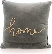 Primitives by Kathy - Home - Velvet Accent Throw Pillow in Gray
