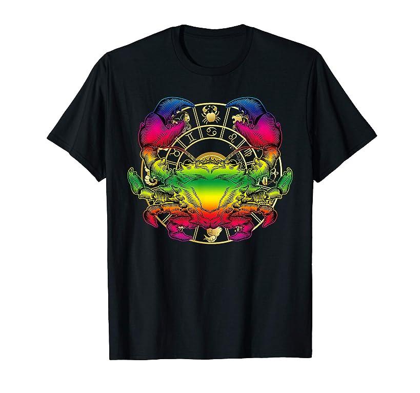 Cancer zodiac T-shirt Birthday June-July
