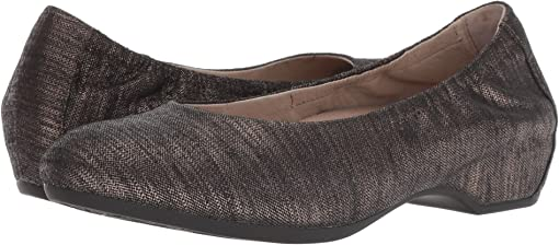 Pewter Textured Leather