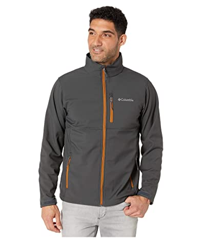 Columbia Ascendertm Softshell Jacket (Shark/Burnished Amber) Men