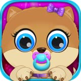 My Celebrity Newborn Pets - Baby & Mommy Dog Pregnancy Care Kids Games Free
