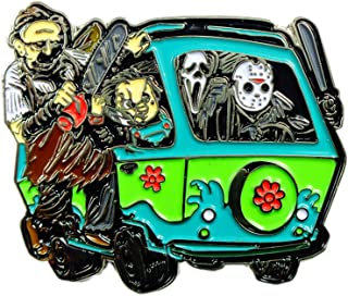 Horror Movie Pin Chucky Jason Scream Leatherface Mystery Machine Pin