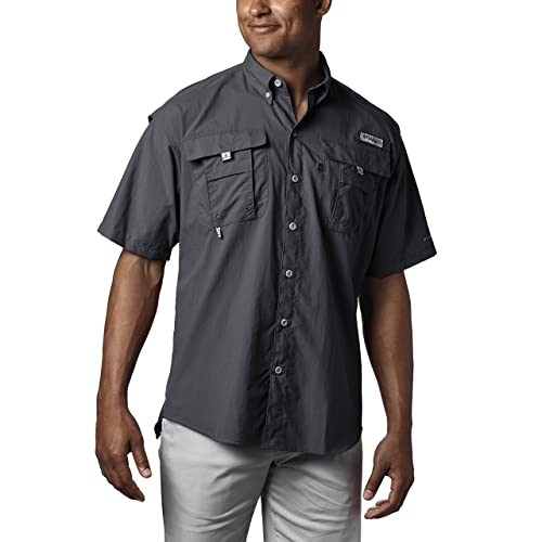 cef184ac0df Columbia Men's PFG Bahama II Short Sleeve Shirt, Breathable with UV  Protection
