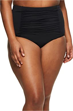 BECCA by Rebecca Virtue Plus Size Color Splash High-Waist Bottoms