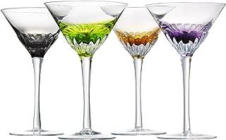 Artland Solar Martini, Assorted, Set of 4