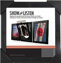 Show & Listen Vinyl Record Album LP Frame, Single, Black