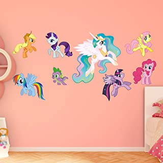 FATHEAD My Little Pony: Collection-X-Large Officially Licensed Removable Graphics Wall Decal