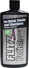 Flitz LQ 04535 Multi-Purpose Polish and Cleaner Liquid for Metal, Plastic, Fiberglass, Aluminum, Jewelry, Sterling Silver: for Headlight Restoration + Rust Remover, 3.4 oz