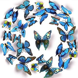 Autocollants Muraux Mural Stickers BlumWay Doux Color/é Arc-En-Papier Peint Vinyle Decal Murale P/épini/ère D/écor Papier Feuille B/éb/é Chambre Mur D/écor Wall Decal Set