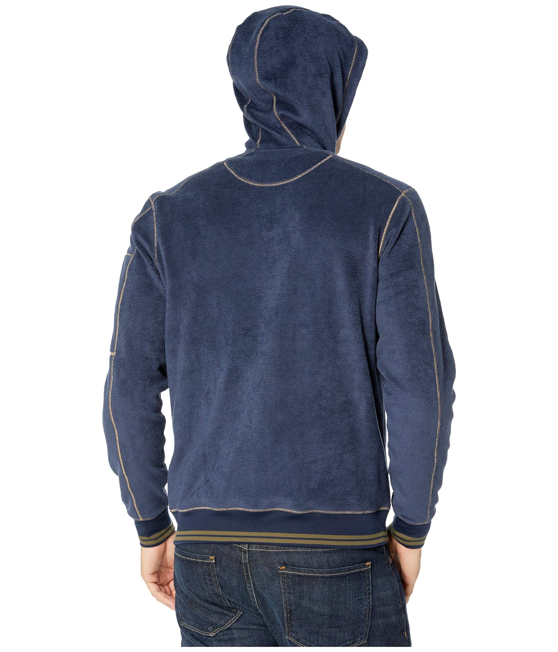 Hoodie Zip Cashmoore amp;co Toad Navy Deep OZ1qxw