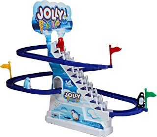 IQ Toys Jolly Racer, 13 Inches Tall Frisk Paradise Musical Penguin Racing Track