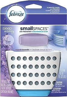 Febreze Air Freshener,  Small Spaces Air Freshener,  Sleep Serenity Moonlit Lavender Air Freshener (1 Count, 5.5 mL)