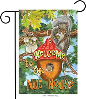 Best welcome to the nut house garden flag Reviews