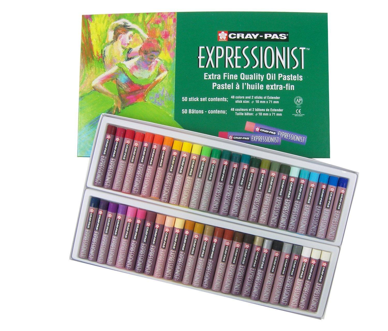Sakura XLP50 50 Piece Cray Pas Expressionist