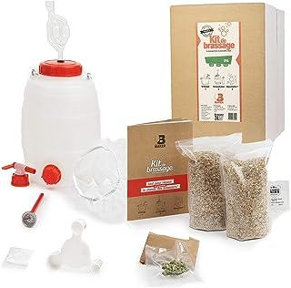 B Maker - Kit Biere IPA - IDEE Cadeau Homme Femme - Kit Brassage Biere a Faire Soi Meme pour Fabriquer sa Bière à la Maiso...