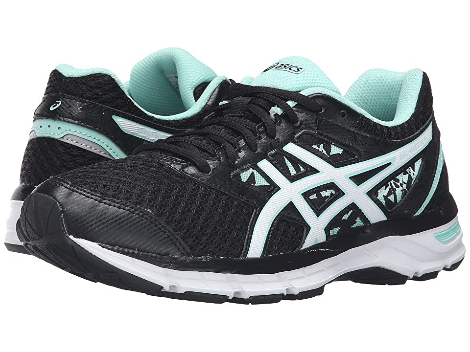 ASICS Gel-Excite(r) 4 (Black/White/Mint) Women