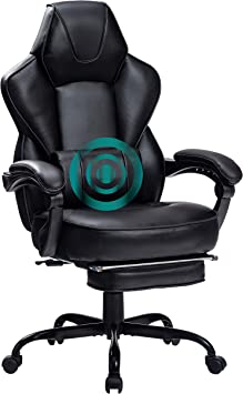 HEALGEN Gaming Chair with Footrest Ergonomic Racing Style Gaming Chair
