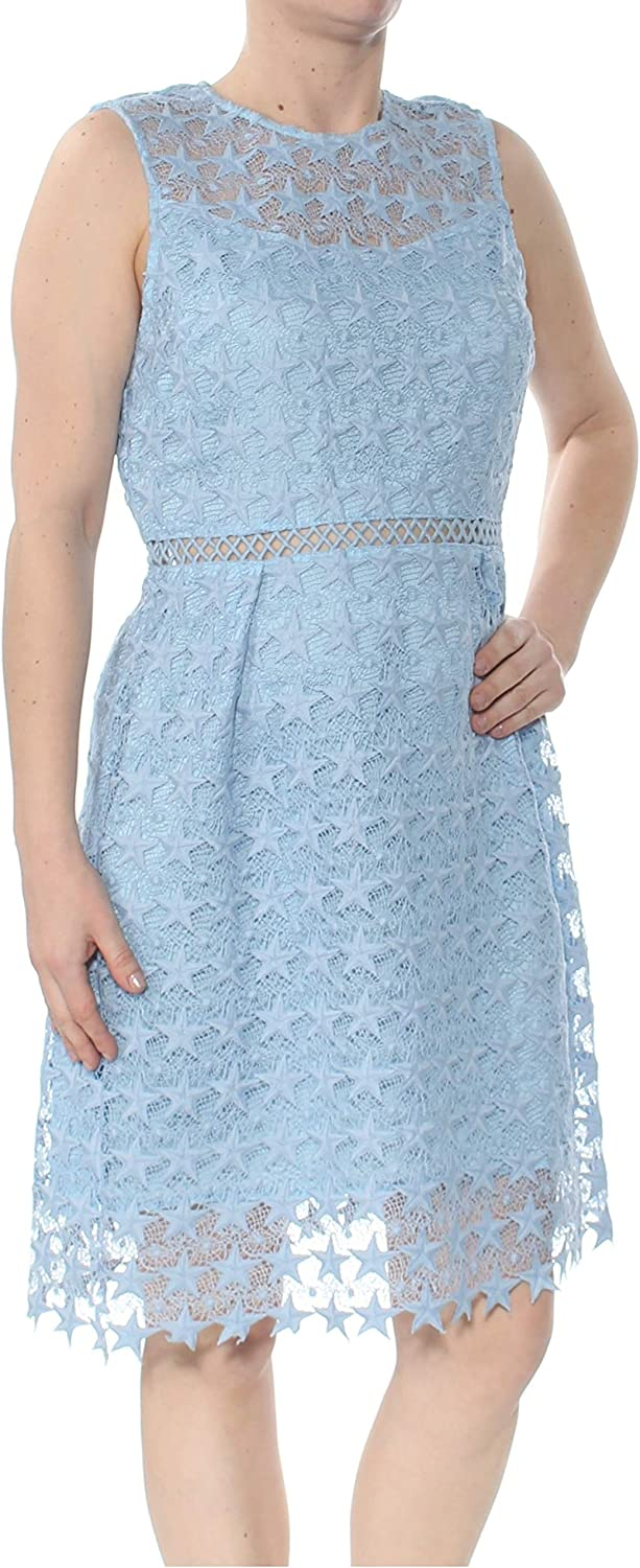 Maison Jules Max 61% OFF Womens Lace Fit Dress High material Flare Mini