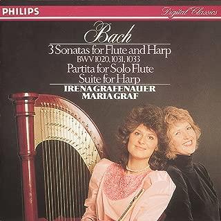 J.S. Bach: Sonata No.2 in E flat major, BWV 1031 - For Flute and Harp - 2. Siciliano