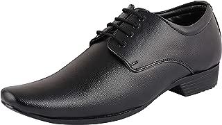 BATA Men's Black Lace-Up Formal Shoes