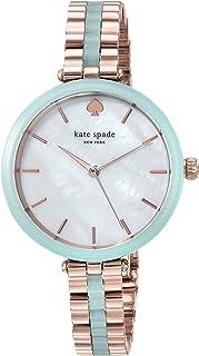 KATE SPADE Women's KSW1424 Year-Round Analog-Digital Quartz Green Band Watch