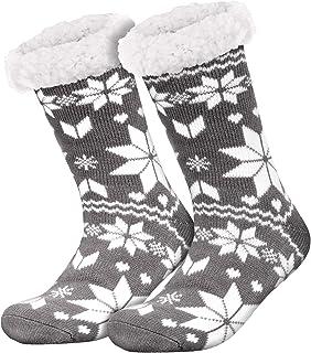 Compagno, calcetines amorosos con ABS suela antideslizante calcetines de invierno mujer hombre calcetines 1 par talla única