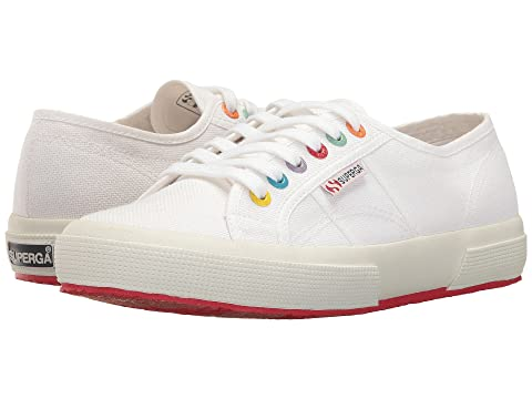 Superga 2750 Coloreycotw Sneaker, WHITE MULTI
