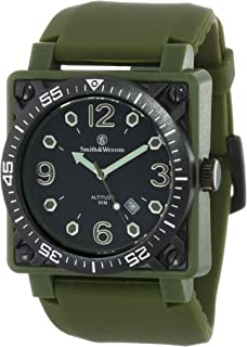 Men's SWW-5800-OD Altitude OD Black Dial Rubber Band Watch