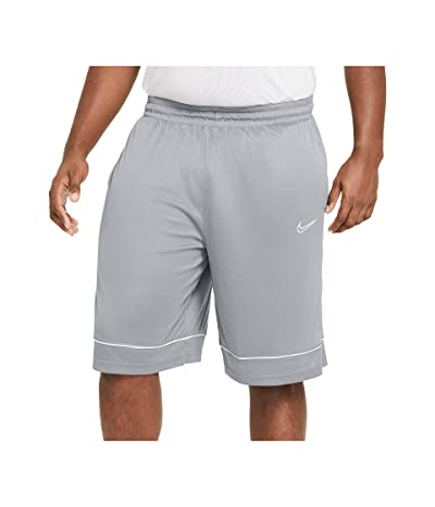 Nike Big Tall Shorts Fastbreak (Cool Grey/Cool Grey/White) Men