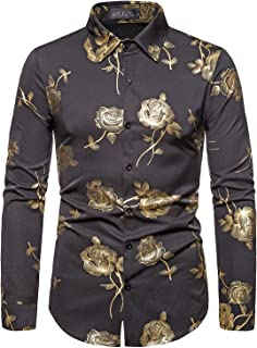 men's dress shirts with designs