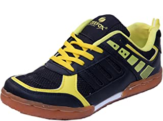 ZEEFOX Pace Men's Badminton Shoes Yellow