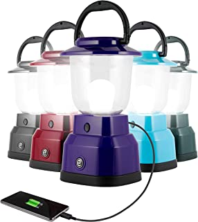Enbrighten LED Camping Lantern, Battery Powered, USB Charging, 800 Lumens, 200 Hour Runtime, Carabiner Handle, Hiking Gear...