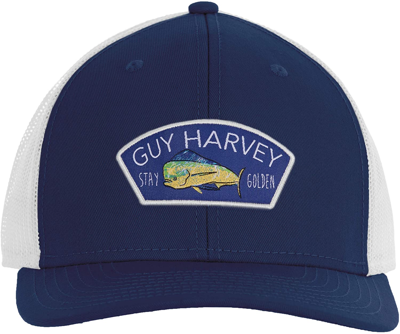 Guy Harvey Men's Hat Trucker セール特別価格 Chambray 日本正規代理店品