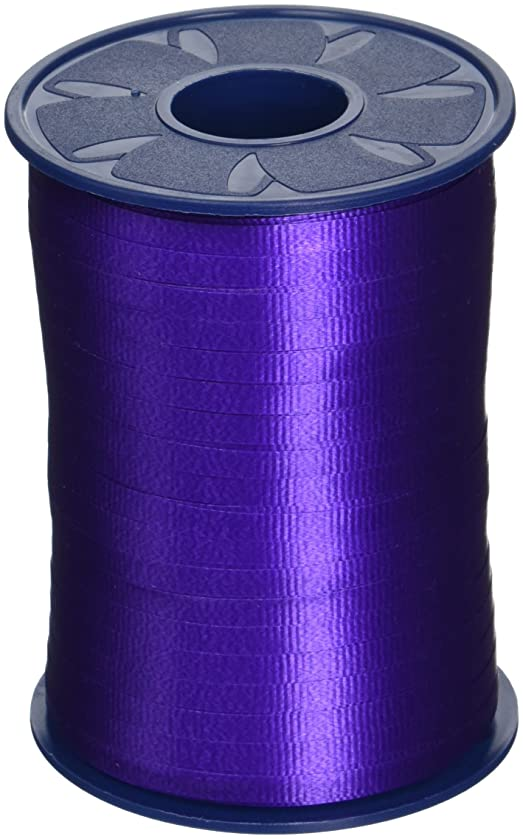 Morex Poly Crimped Curling Ribbon, 3/16-Inch by 500-Yard, Purple