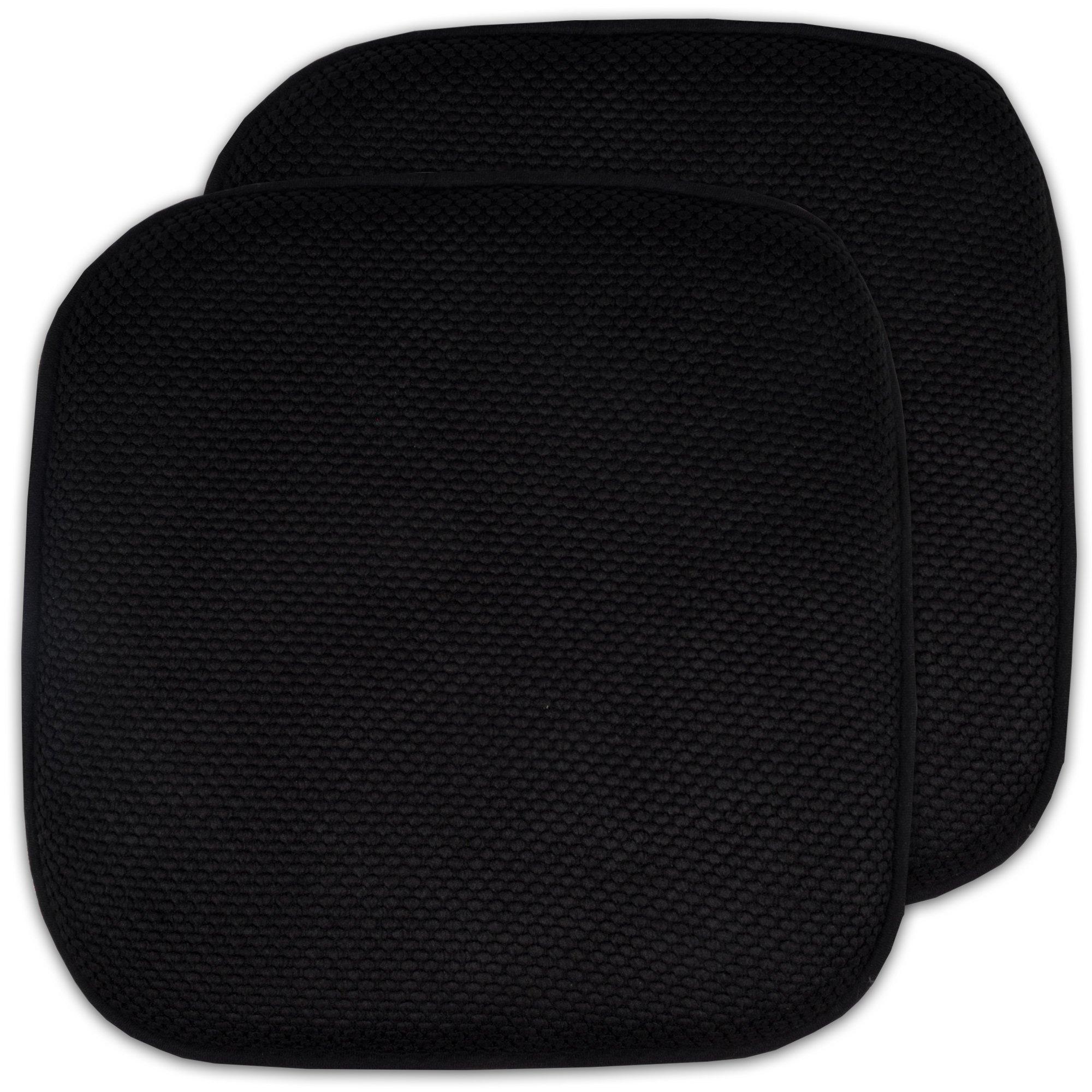 Cheap 2 Pack Memory Foam Honeycomb Nonslip Back 16