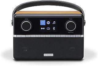 Roberts Radio Stream 94i (DAB+/FM/Spotify/USB und WiFi Internetradio) mit Fernbedienung Cherry