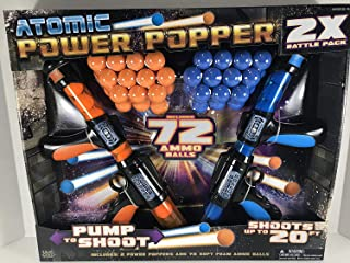 Hog Wild Atomic Power Popper 2X Battle Pack 72 Foams Toy