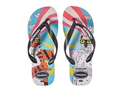 Havaianas Top Mulga (Black/Black/White) Men