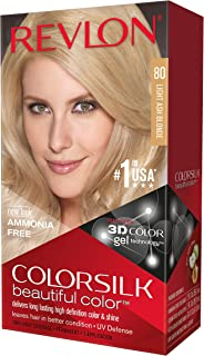 Revlon Colorsilk Haircolor, Light Ash Blonde, 10 Ounces (Pack of 3)